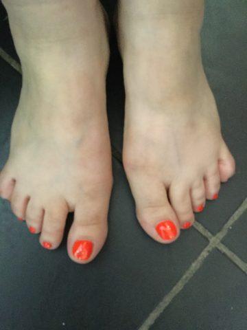 Mes jolies petit pieds