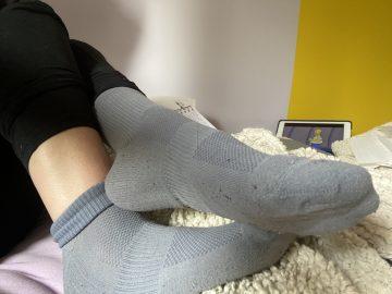 Petite chaussettes grise